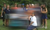 Image of a group of people with some out of focus